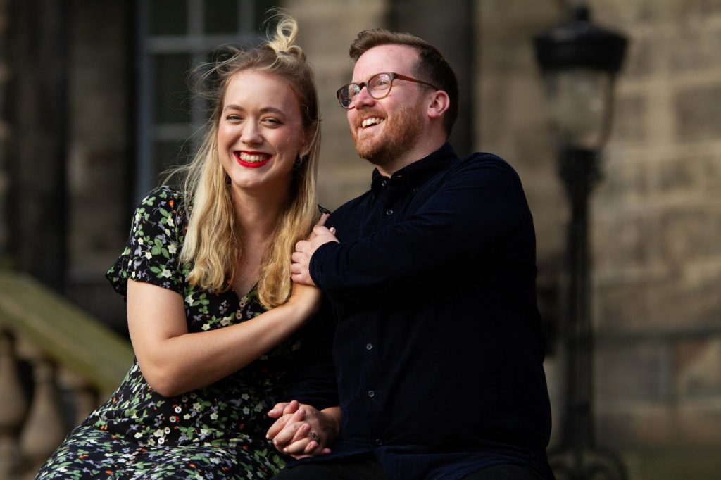 Jessica+Rapp+and+Iain+Shaw+announce+their+engagement