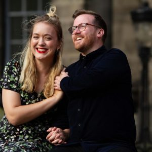 Jessica Rapp and Iain Shaw announce their engagement