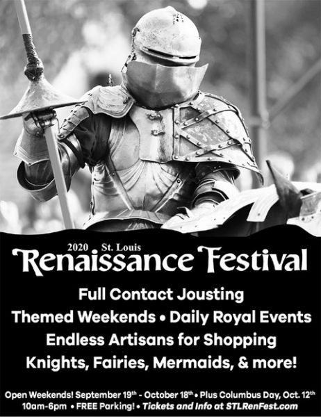 Enter to win tickets to the St. Louis Renaissance Festival (tickets still good next year if it's canceled)