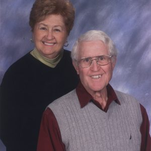 Rich and Carol Stieren celebrating 65 years of holy matrimony