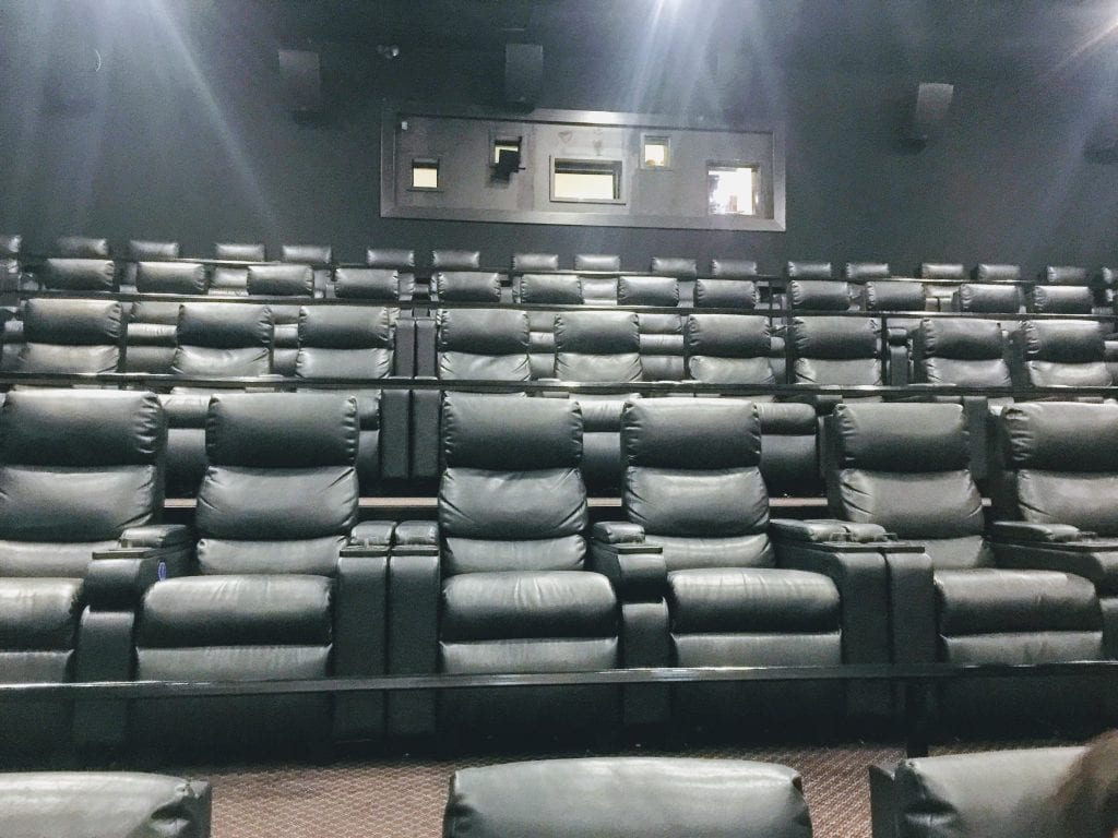 The newly renovated Ronnie's Cine