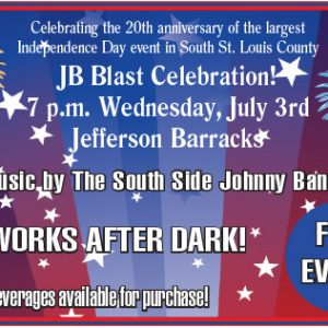 JB Blast's 20th annual fireworks display is tonight