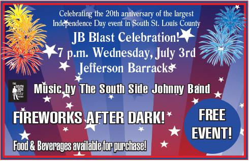 JB Blast's 20th annual fireworks display is tonight