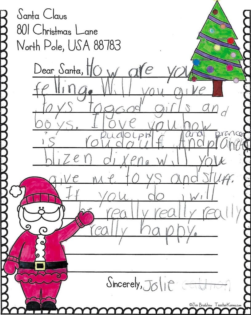 Dressel+Elementary+second-graders+tell+Santa+what+they+want+this+year