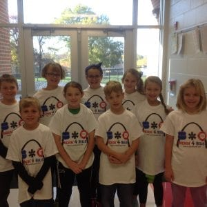 Lindbergh fifth-graders rock to benefit BackStoppers