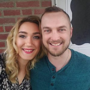 Evan and Sarah Kelly celebrate two years of marriage together
