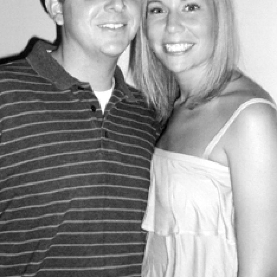 Jeffrey Caithamer and Katie Schrader