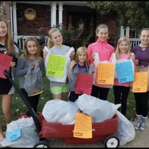Oakville girls turn shoes into clean water