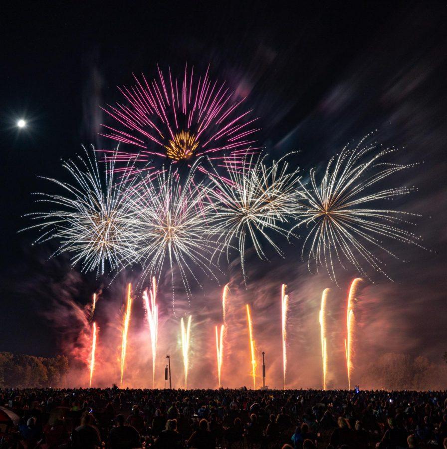 The Sky Wars 2020 fireworks championship.