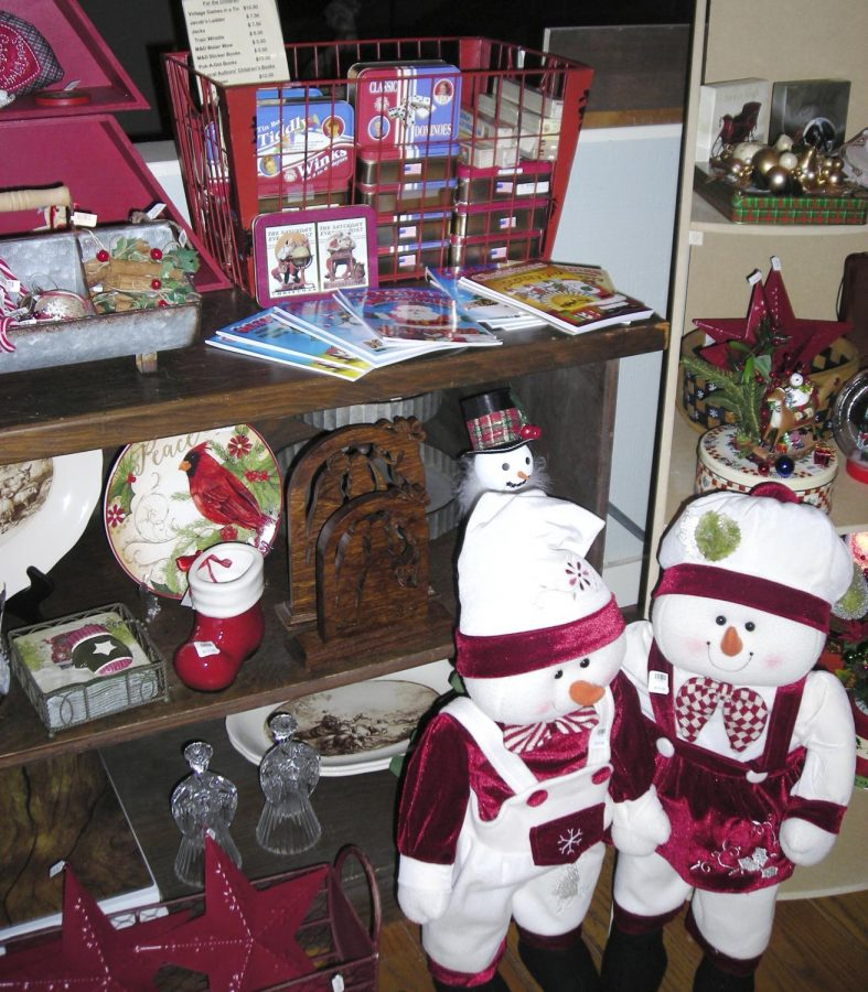 The Loft Gift Shop at Historic Sappington House offers decorative gifts and presents.