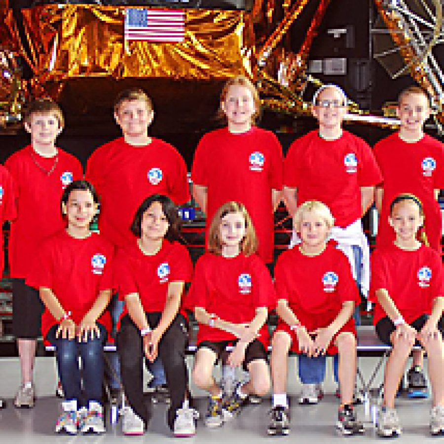 Team Collins was one of several teams from Lindbergh Schools to attend Space Camp this year.