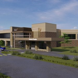 Mercy opening new $54 million cancer center on St. Anthony's campus