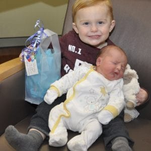 De Soto family has New Year's baby at St. Anthony's for second time