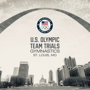 St. Louis will host the 2020 U.S. gymnastics Olympic team trials