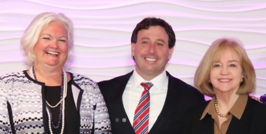 Pictured above, from left to right: Sheila Sweeney, County Executive Steve Stenger and city of St. Louis Mayor Lyda Krewson. Stenger posted this photo on his 2018 campaign website, at the same time federal investigators were looking into his relationship with Sweeney and whether he directed her to give county contracts to his campaign donors.