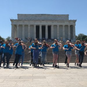 Lindbergh Strolling Strings perform in D.C.