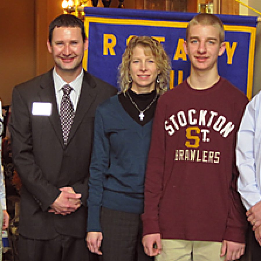 Rotary Club honors Student of the Month