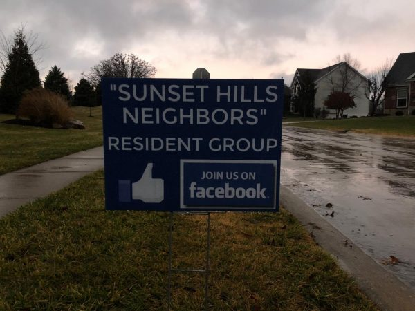 John Stephens and his wife, Gena, started the private Sunset Hills Neighbors Facebook group last year.