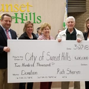 Sunset Hills resident donates $200,000 for parks