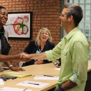 New Oakville principal meets and greets