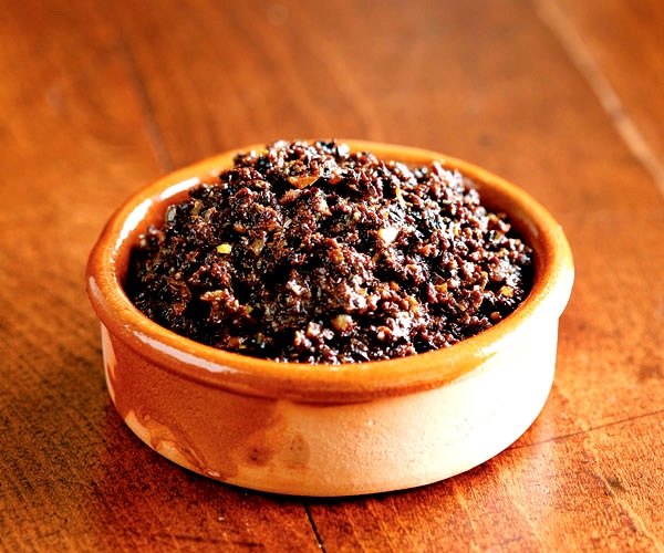 A summer tapenade inspired by travels to Spain.