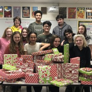Truman Middle students raise money for Lindbergh families in need
