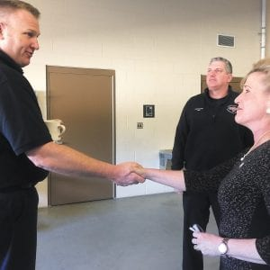Wagner tours MFPD's Engine House No. 3
