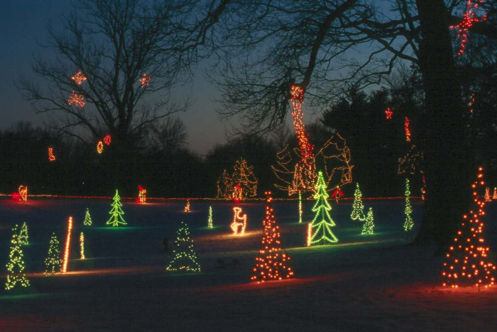 Winter+Wonderland+in+Tilles+Park+will+open+Wednesday+for+the+34th+year