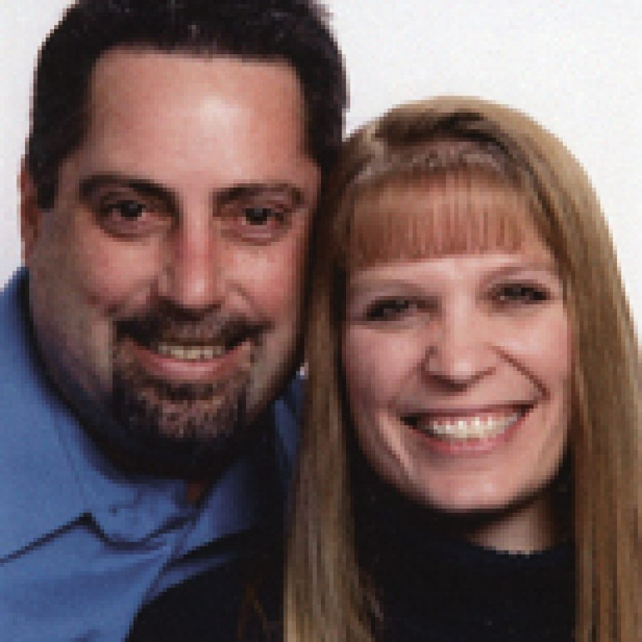 Doug Grills and Beth Wolschlager