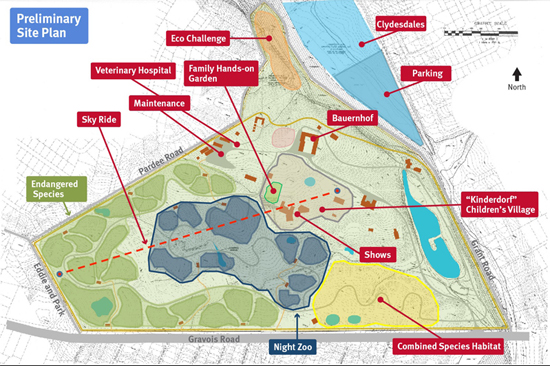 Zoo Association buys union property in north county for conservation area