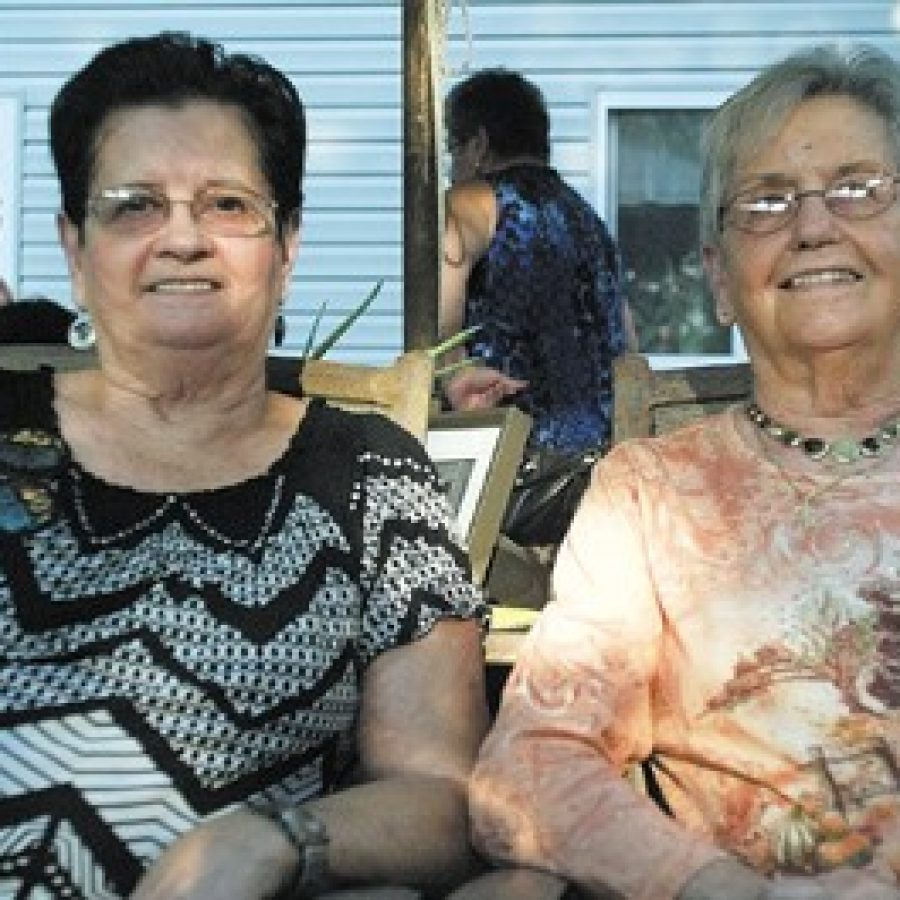 Twins Thelma Kathleen Douglas and Aleen Velma Garland celebrated their 80th birthday together on Sept. 24 in Oakville.