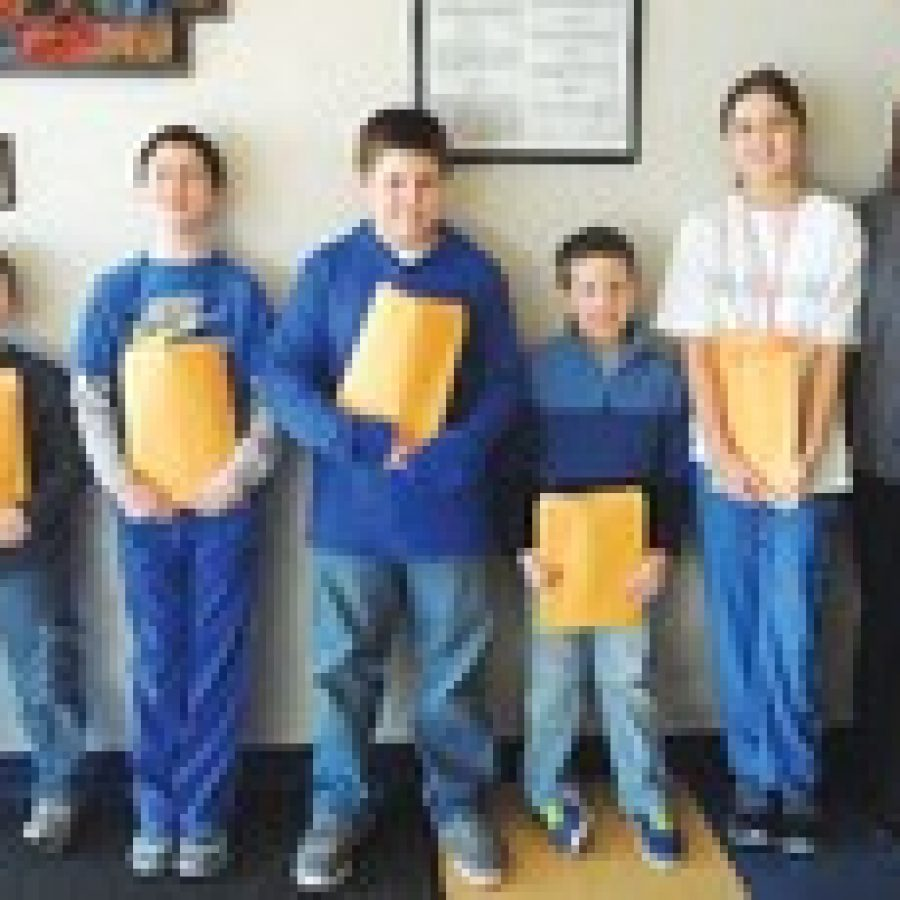 Terrific Kids of the Month