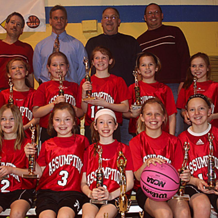 Assumption girls win tournament