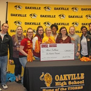 Oakville High senior receives scholarship surprise