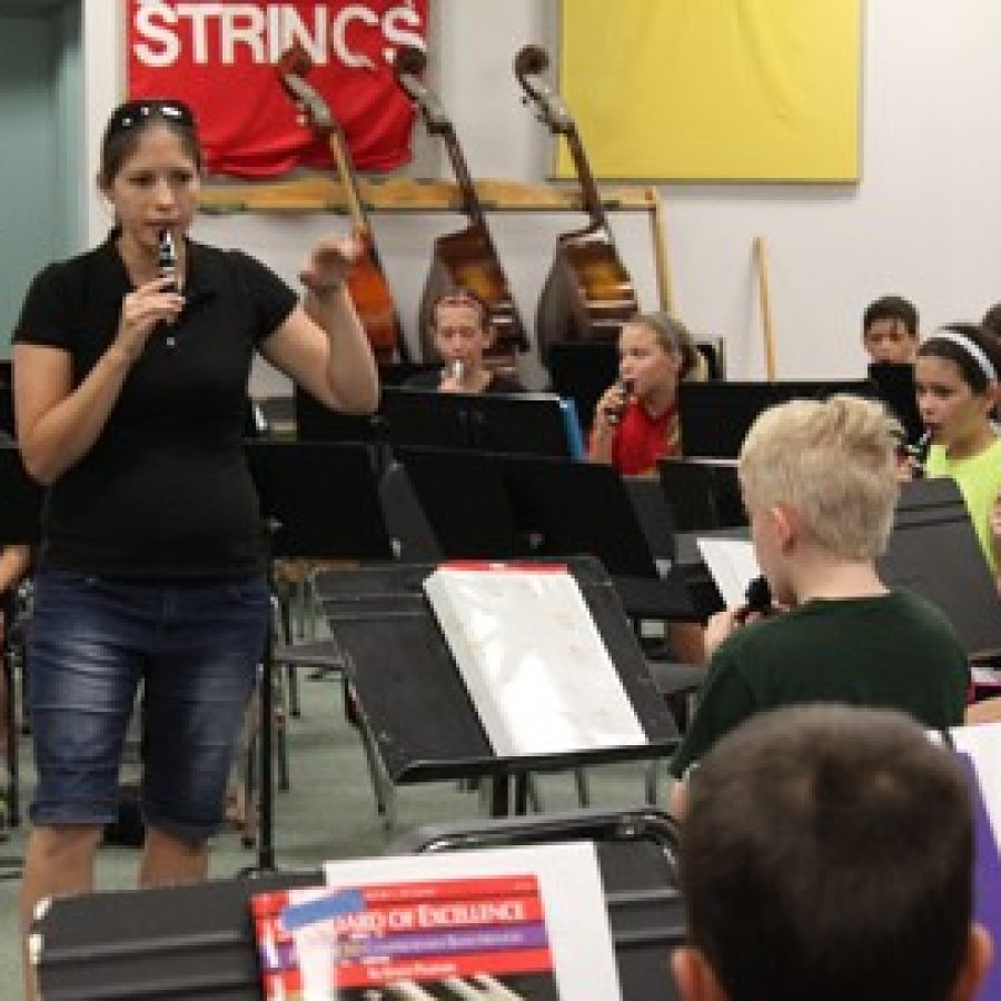 More than 400 attend Lindbergh summer band camp