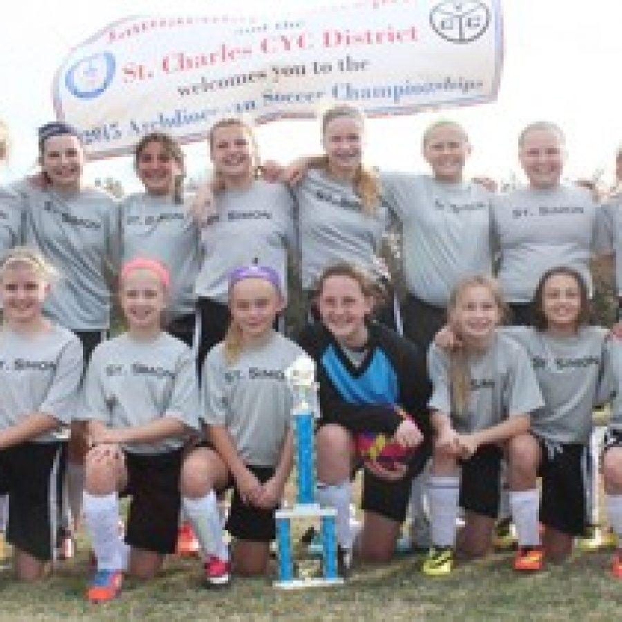 St. Simon girls win City/County Championship