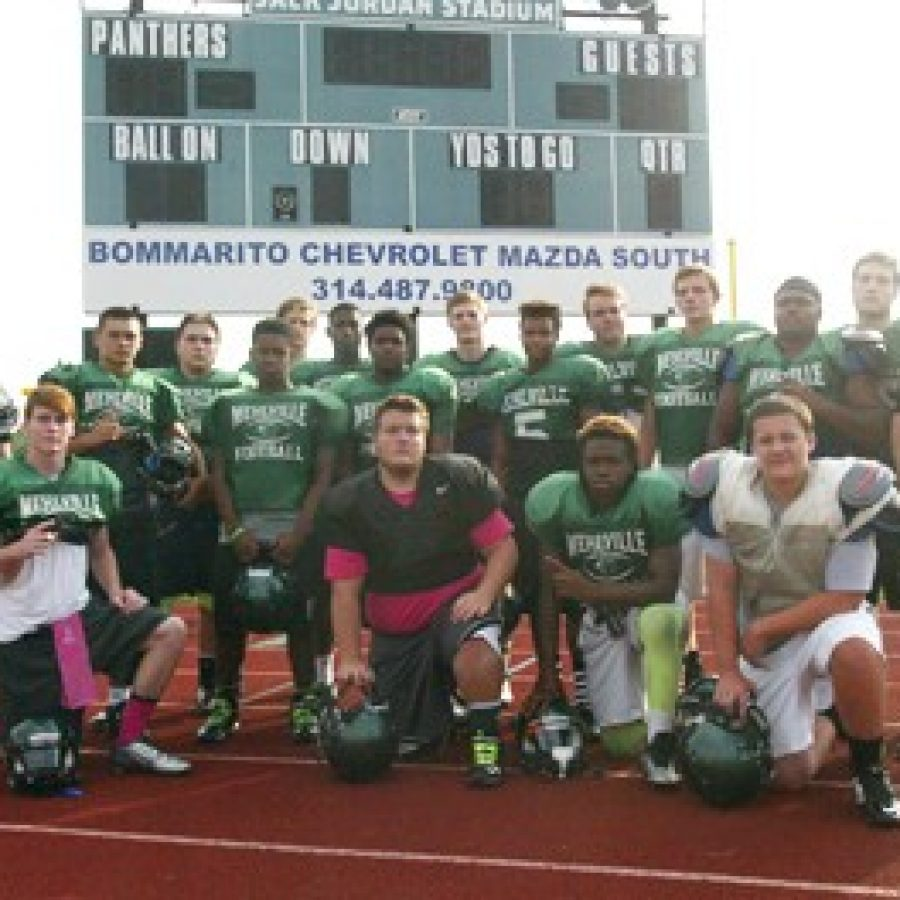 The Mehlville Senior High School team will tackle the Ritenour Huskies Friday night on the road.