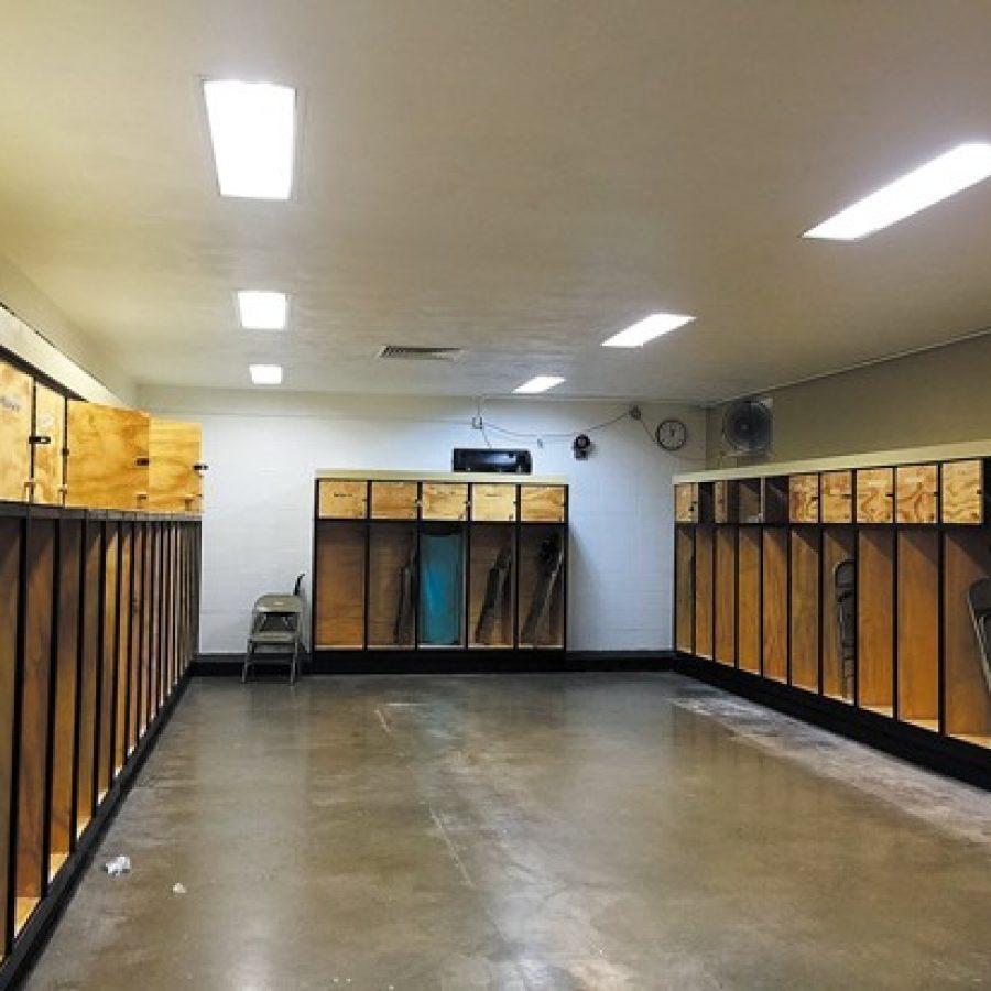Progress made on Oakville locker rooms