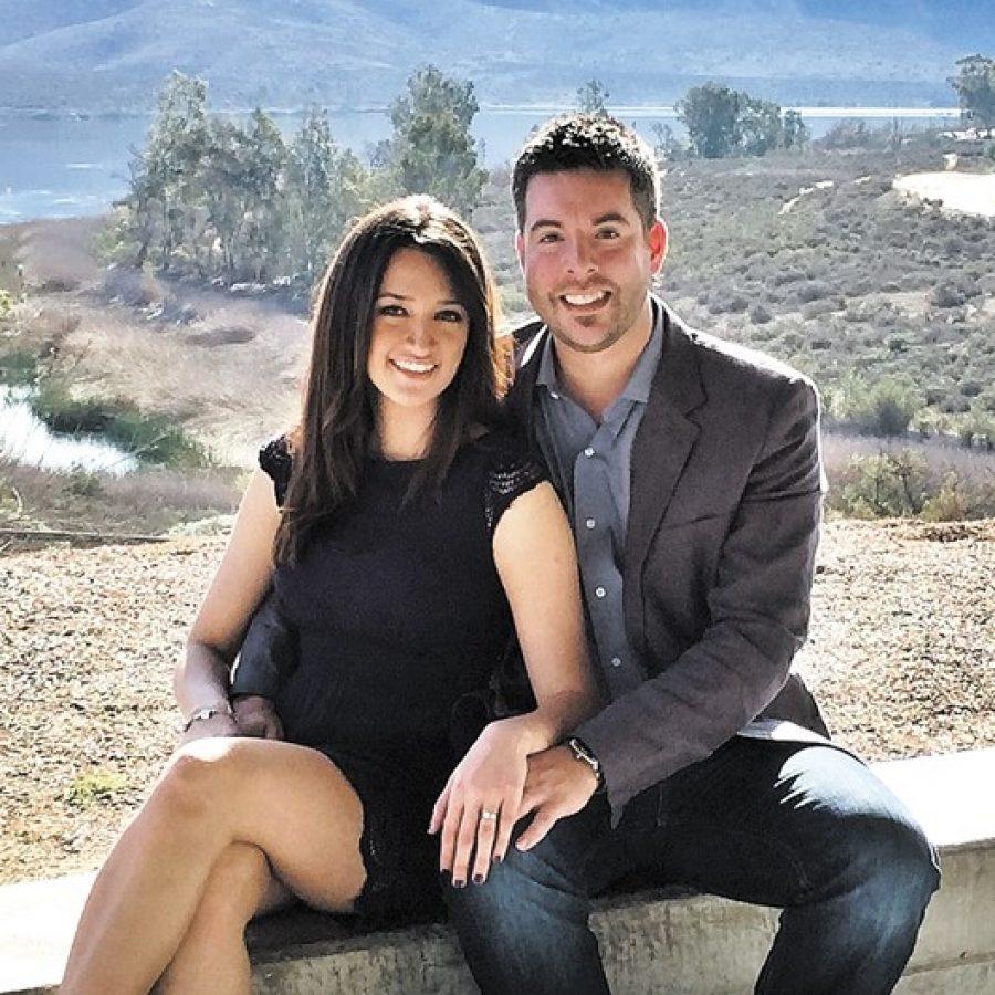 Samantha Menchaca and Nathan Cook