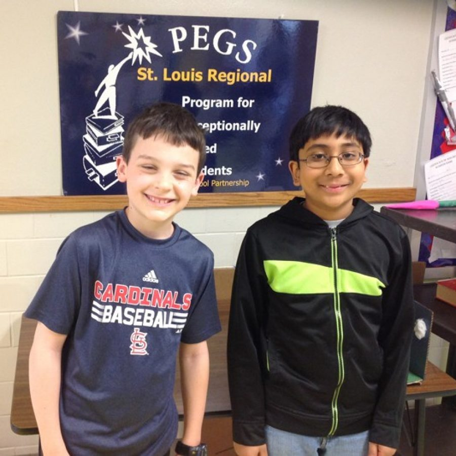 Math contest equals success for PEGS students
