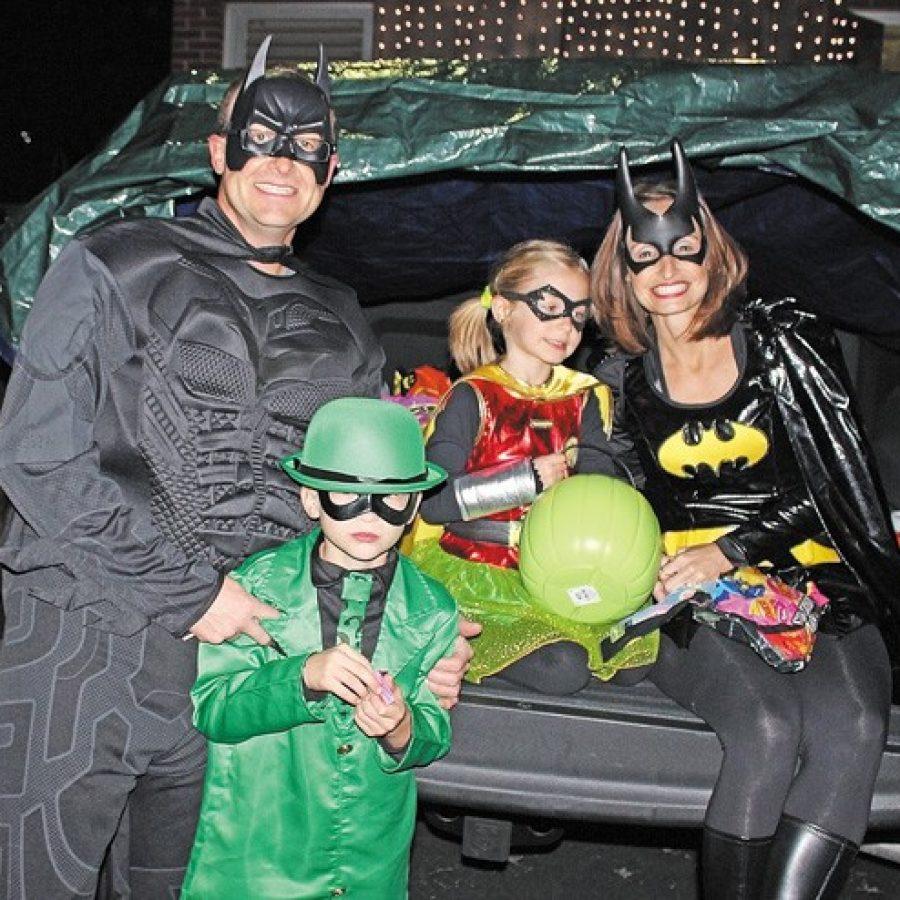 'Holy smokes, Batman, it's Halloween'