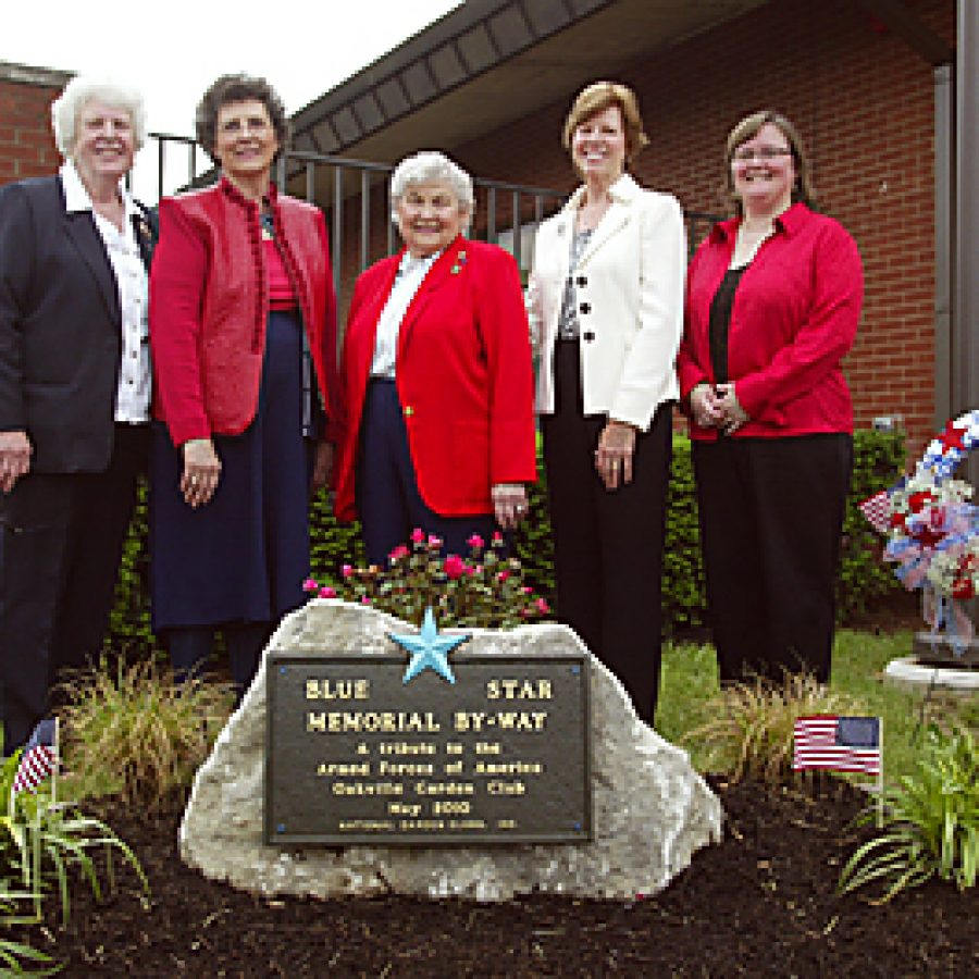 Library receives Blue Star Memorial By-Way Marker