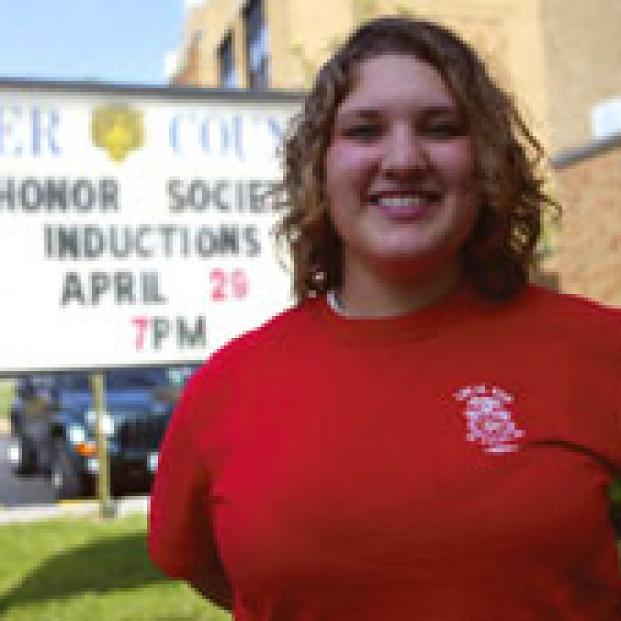 Emily Brauch plans on studying social work when she moves to Southeast Missouri State University later this summer.Bill Milligan photo