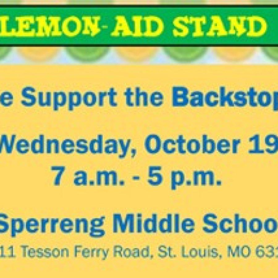 Sappington fifth-graders will host Lemon-AID stand