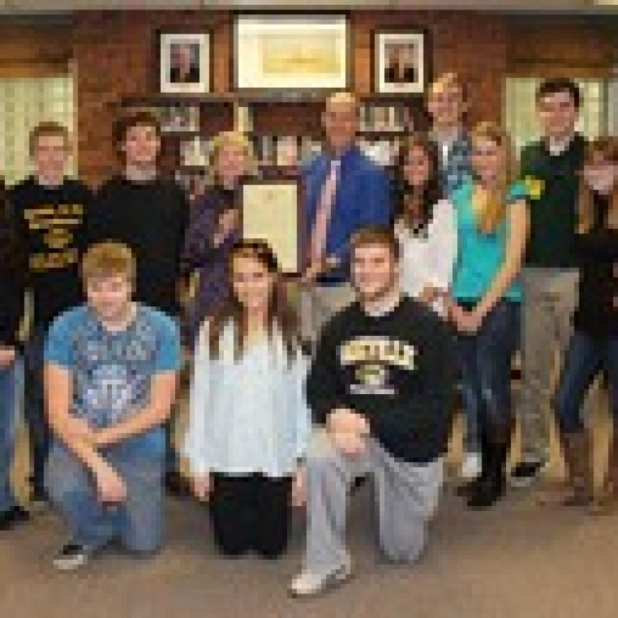 State Legislature honors Oakville High School students