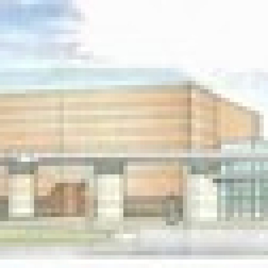 This rendering of the Mehlville School District's auditorium was presented March 15 to the Board of Education by Superintendent Eric Knost.
