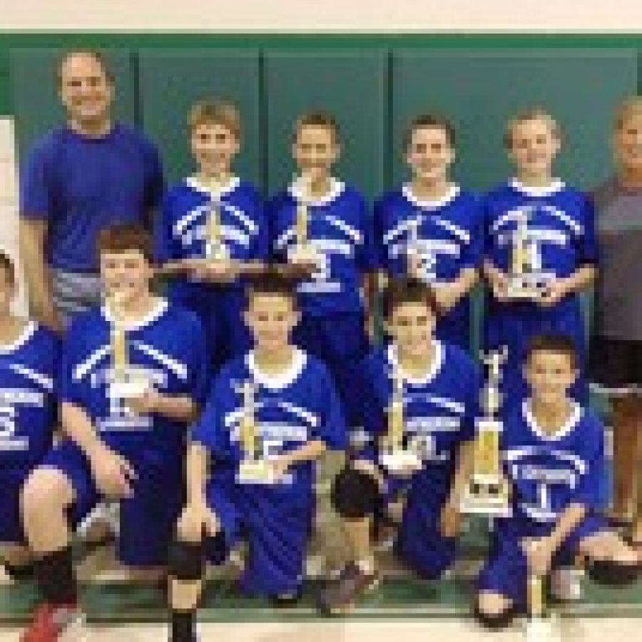 St. Catherine boys win volleyball tourney