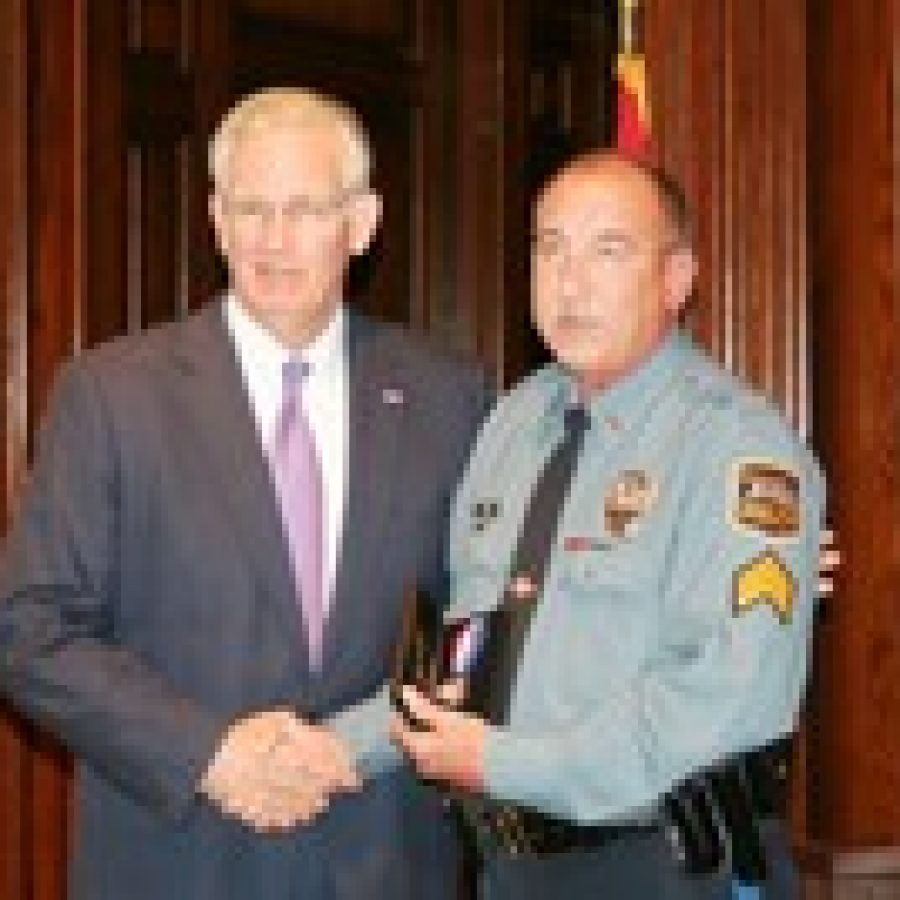 Sunset Hills Police detective recipient of state's highest public safety award