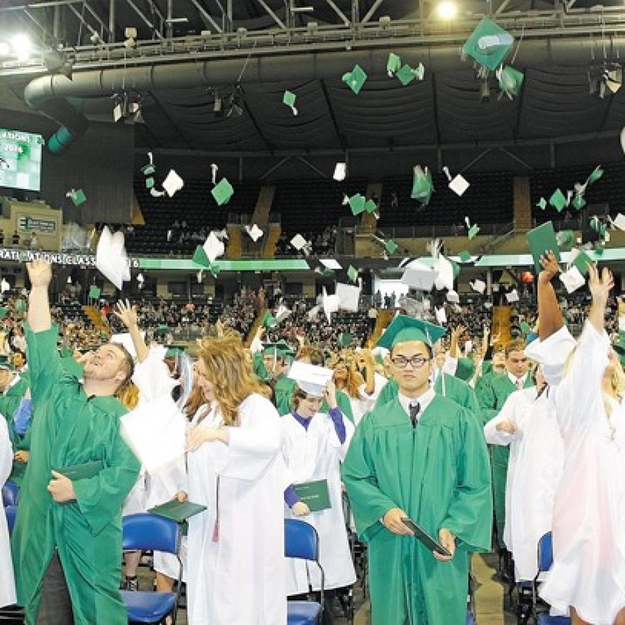 Mehlville High students celebrate graduation