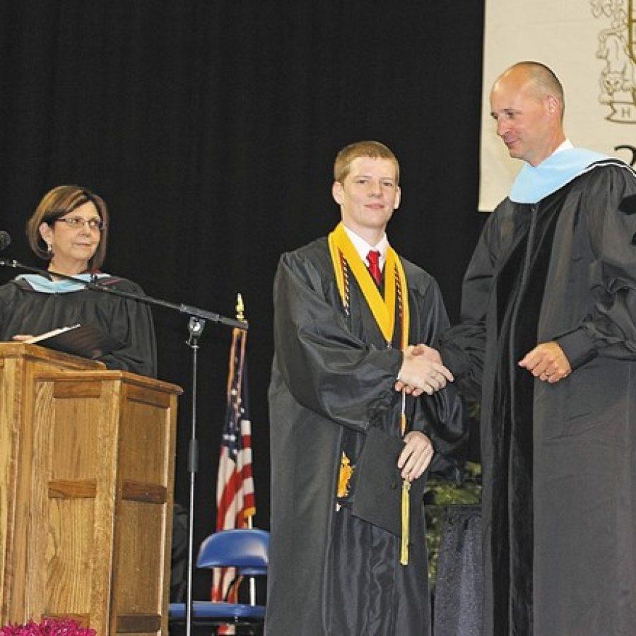 Oakville High students celebrate graduation